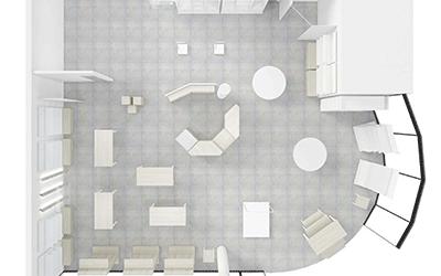 Vi tegner din butikk GRATIS (om du bestiller innredningen) i 3D