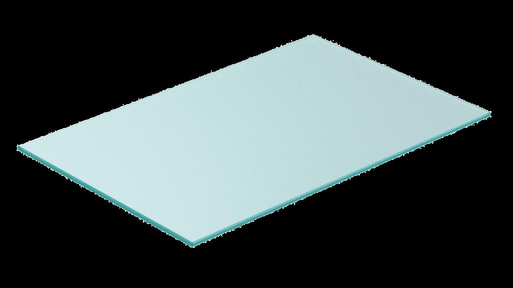 Glasshylle 30cm dybde