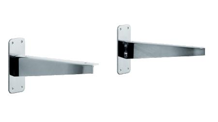 2100/2110 Hylleknekt til å skru rett på vegg 25cm/35cm